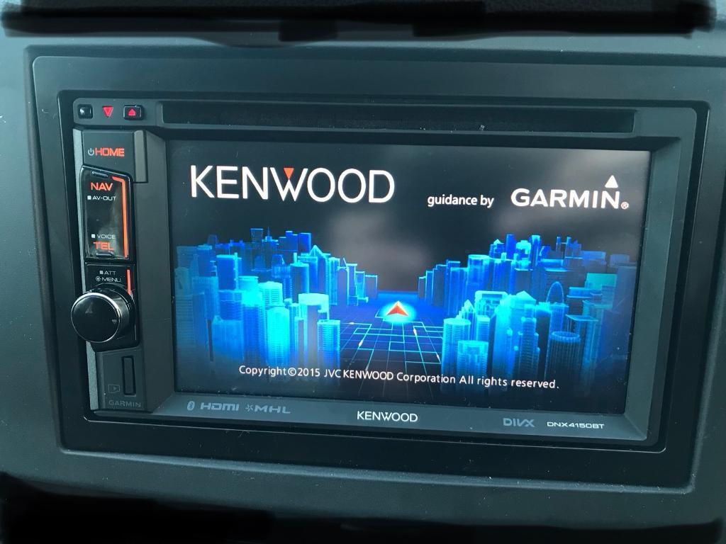 Kenwood Dnx4150bt Double Din Car Stereo Sat Nav Dvd In Clowne Egr Valve Location On A 2011 Ford Transit