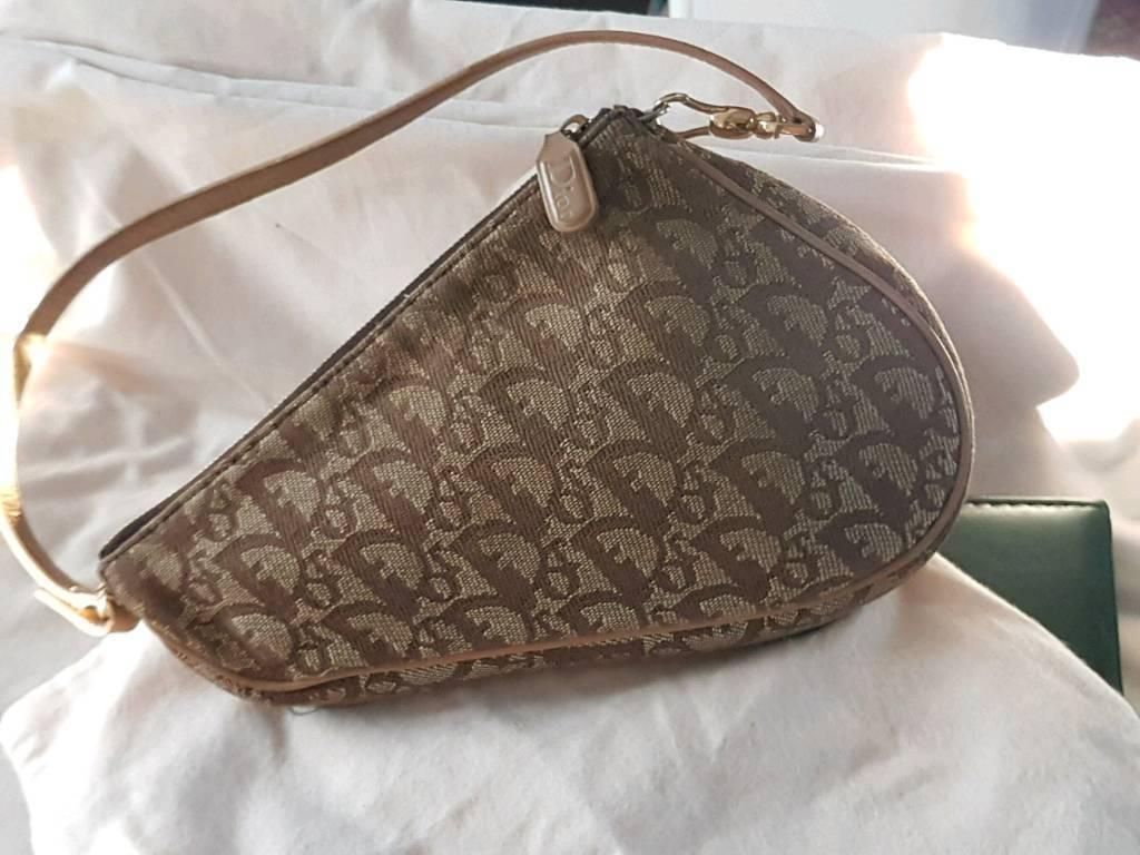 Vintage Christian Dior Saddle Bag Mini EXC COND!  4179600e78ca3
