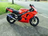 Kawasaki ninja 636 red