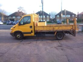 IVECO Daily Tipper Van with ramp - MOT-12 m-ths