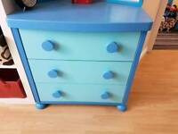 Ikea mammut blue furniture