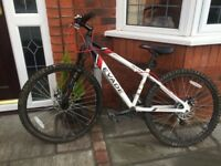 Evade Apollo Mountain Bike RRP 200 (great condition, just dirty)