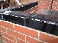 38 Diamond Black Gloss Bricks