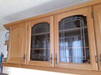 20+ traditional style kitchen units - cathedral oak