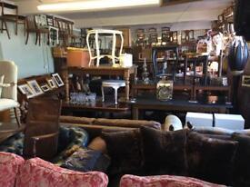 Pre owned vintage furniture shop