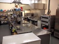 Commercial Kitchen equipped to rent - Battersea London