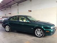 Jaguar X-Type 2.2 D S 4dr +FULL HISTORY + HALF LEATHER+