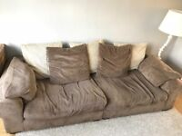 Sofa for sale 4 seater, 3 seater and footstool
