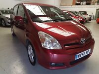 Toyota Corolla Verso 1.8 VVT-i T3 5dr 3 Months Warranty