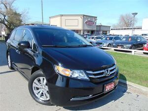 2015 Honda Odyssey EXL-LEATHER-SUNROOF-CAMERA-DVD-NAVI-8PSGR