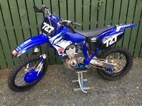Yz400f evo mx bike, meticulous restoration with NOS parts.