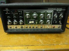 Roland RE-301 space echo vintage tape delay with chorus, spring reverb EXCELLENT CONDITION, SERVICED