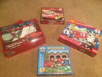 Jigsaw Bundle: Postman Pat; Cars; Thomas the Tank Engine