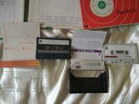 TDK cassette's & BASF reel to reel tape