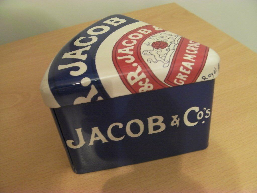 Jacobs Cream Cracker Tin