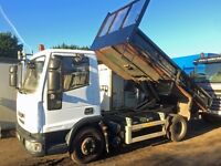 IVECO EURO 5 TIPPER 2009 ONE OWNER AUTO GEARBOX £7950 + VAT TO CLEAR CALL TODAY & TALK!!