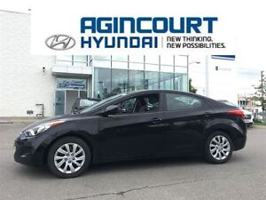 2013 Hyundai Elantra GL/HEATED SEATS/OFF LEASE/ONLY 60996KMS!!