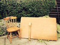 Table and 6 chairs great condition