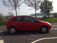 2005 FORD FIESTA ZETEC 12 MONTHS MOT WITH FULL SERVICE HISTORY