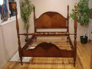 Vintage 4 Post Double Bed