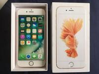 iPhone 6S Unlocked Rose Gold 64GB Excellent condition