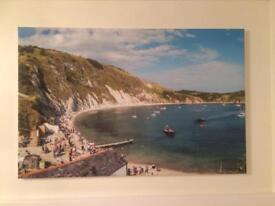 Large canvas print- Lulworth Cove