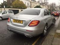 Mercedes-Benz E Class new model for CHAUFFEUR