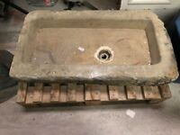 York Stone Sink Large