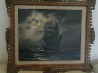 Nice painting signed A.Beardsley