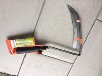 German made Gardena hand scythe - new
