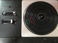 Wireless turntable controller for xbox360 & 2 DJ hero games
