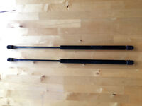 Original Mercedes A Class bonnet, boot & tailgate gas struts (pair)