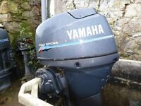 Yamaha 40hp Four stroke outboard with remotes