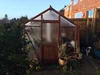 Wooden Greenhouse for sale