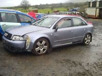 AUDI A4 ENGINE/GEARBOX/PARTS