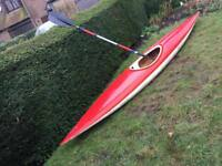 Single person 13ft Kayak