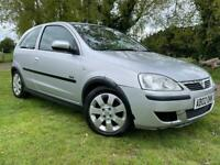 1 YEARS MOT - VAUXHALL CORSA 1.2L - ONLY 80K LOW MILES