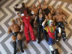 Selection of WWE wrestlers SOLD