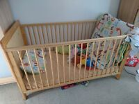 COT BED, great condition Mothercare Ashton