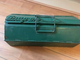 Snap-On Vintage Sturdy Metal Toolbox