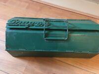 Snap-On Vintage Sturdy Metal Toolbox