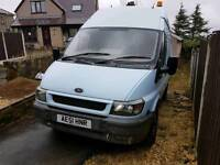 ford transit built in compressor and generator