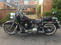 Harley Davidson Softail Deluxe FLSTNi. Registered Jan 2005.