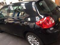 Toyaa Auris, 5 door, alloy wheels, interior black