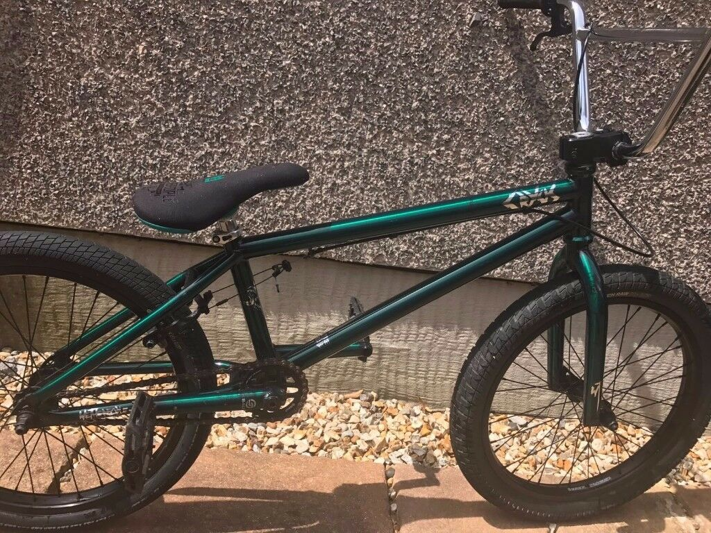 wethepeople bmx crysis chrome green we the people bike in