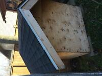 Insulated dog house with kennel