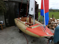 Tinker Super Tramp Sailing Inflatable Dinghy