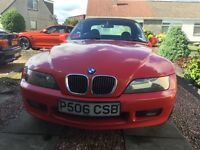 BMW Z3 1997 very low mileage, excellent condition, 10 months MOT, NEW PRICE
