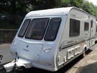 Compass Omega Four Berth Touring Caravan