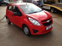 11 PLATE CHEVROLET 1.0 SPARK+ 5DR 61000MILES FSH £30 ROAD TAX 56+MPG £2975